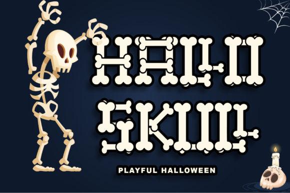 Hallo Skull Font