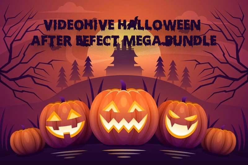 Halloween After Effect Video Template Bundle Pack 2021 1
