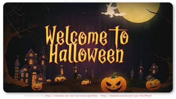 Videohive Halloween Slideshow 34179062