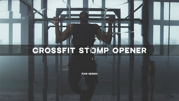 Videohive Crossfit Stomp Opener   After Effects Template 33676976