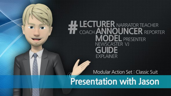 Videohive Presentation With Jason: Classic Suit 16095856
