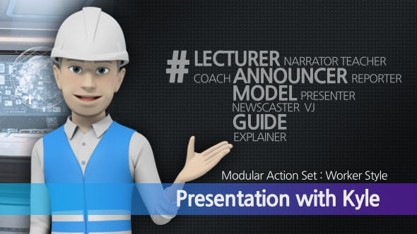 Videohive Presentation With Kyle: Worker Style 19260275