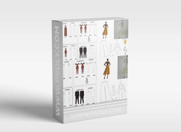 Learn Fashion Design on Adobe Illustrator: Beginner's Course
