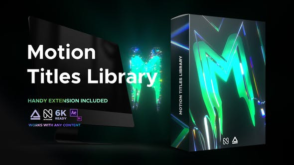 Videohive - Motion Titles Library - Animated Text Package - 33708192