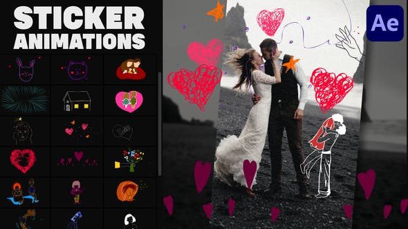 Videohive Love Lyric Animations 02   After Effects 34162227