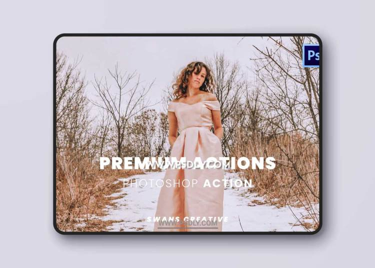 Premium Actions Photoshop Action