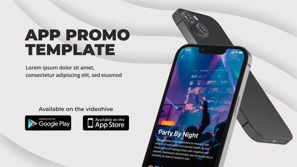 Videohive Clean App Promo   Phone 13 34126945