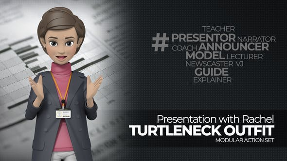 Videohive Presentation With Rachel Turtleneck Outfit 25387485