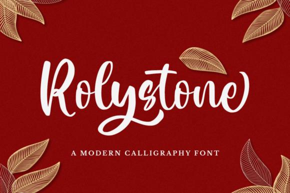 Rolystone Font