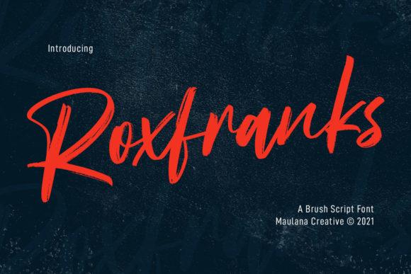 Roxfranks Font