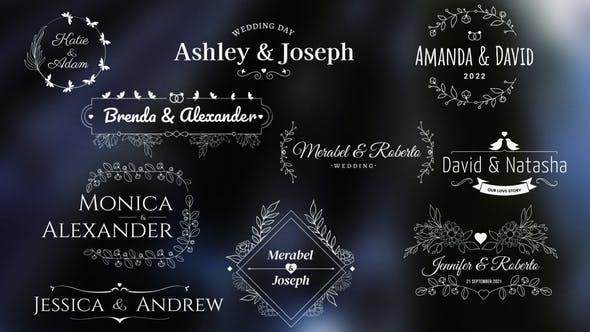 Videohive Wedding/Romantic Titles 34029074