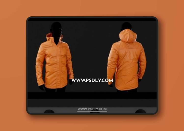 SnowBoard Jacket 3D Models