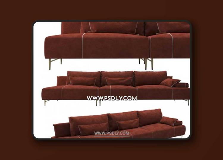 Sofa SAKS 3D Models
