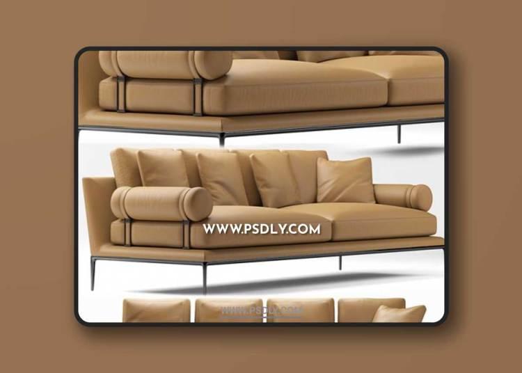 Sofa bebitalia atoll 3D Models