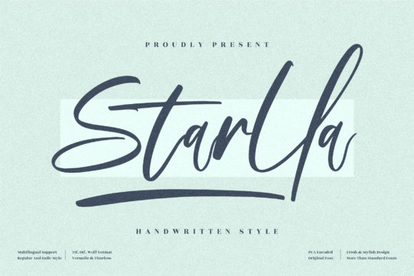 Starlla Font