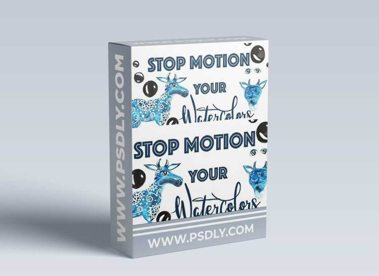 Stop Motion Your Watercolors - Create Stunning Animations From Your Illustrations