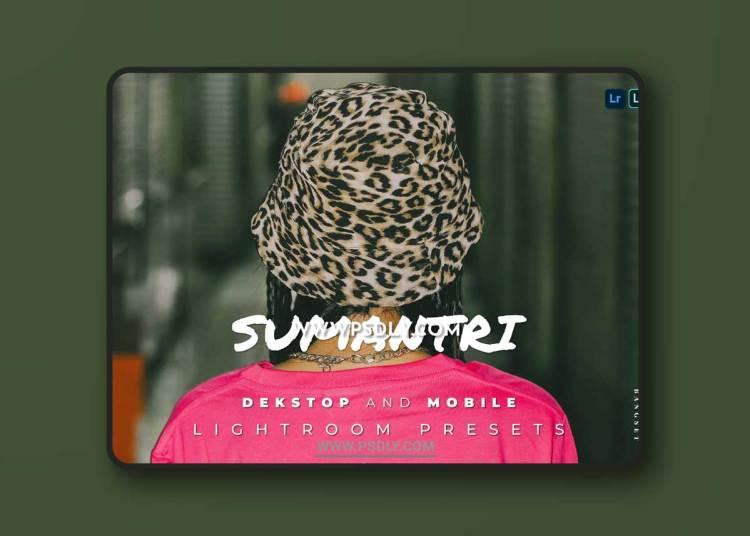 Sumantri Desktop and Mobile Lightroom Preset