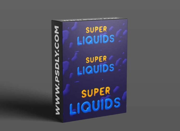 Super Liquids v1.5.4 for After Effects