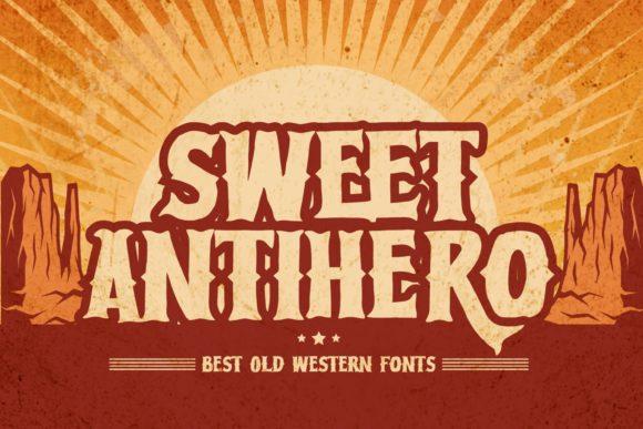Sweet Antihero Font