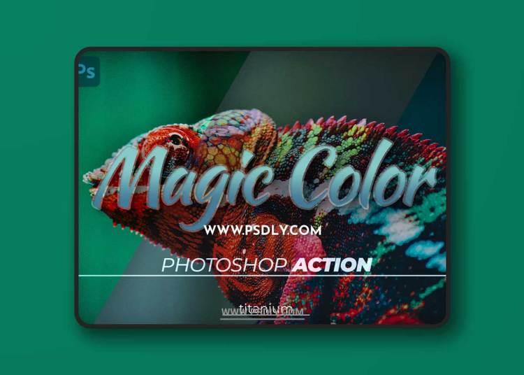 Titanium Magic Color Photoshop Action