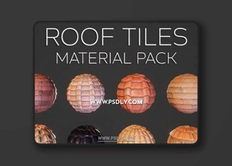 Unreal Engine - Roof Tiles Material Pack Vol.1