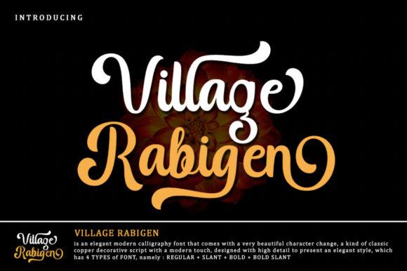 Village Rabigen Font