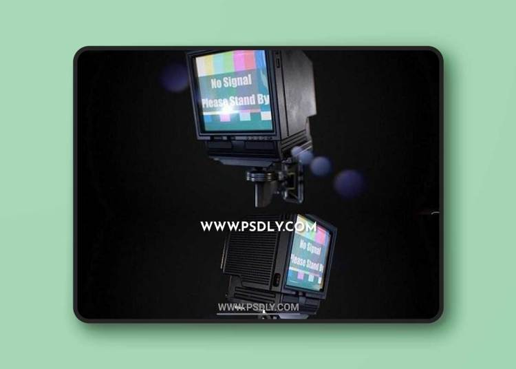 Wall-mounted Television 3D Models