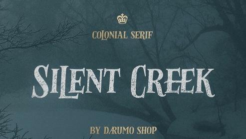 Silent Creek Vintage Serif