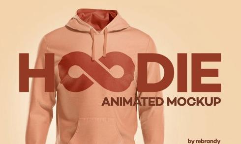 CreativeMarket - Hoodie Animated Mockup 5579880