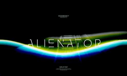 Alienator Font