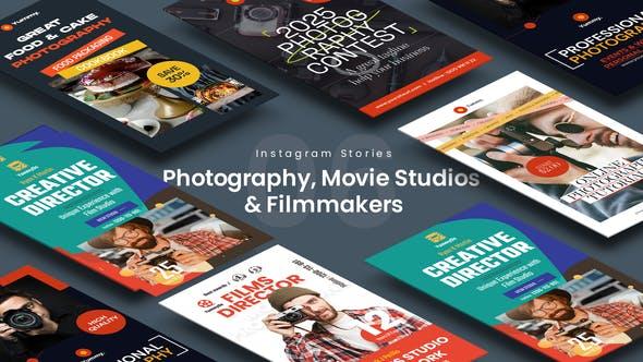 Videohive Photography, Movie Studios & Filmmakers Instagram Stories 34145039