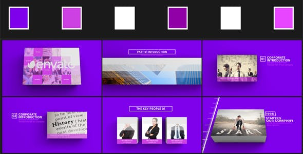 Videohive Minimal Corporate Presentation 3D 16054116