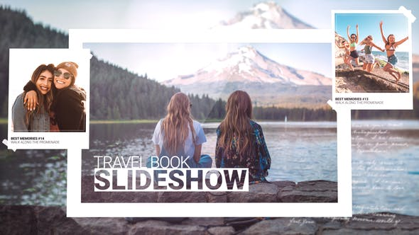 Videohive Travel Book Slideshow 27113012