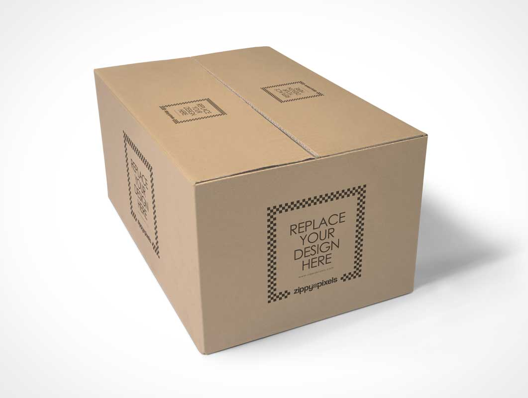 Download Free Packaging Box PSD Mockup - PSD Mockups