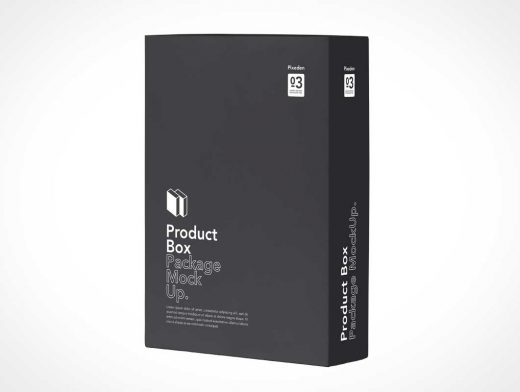 Download Product Box Merchandise Packaging PSD Mockup - PSD Mockups