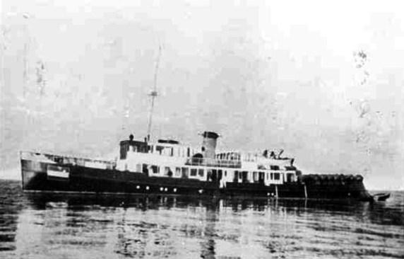 Hulpmijnenlegger II in 1940