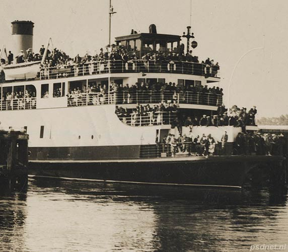 PSD-veerboot sluis Terneuzen