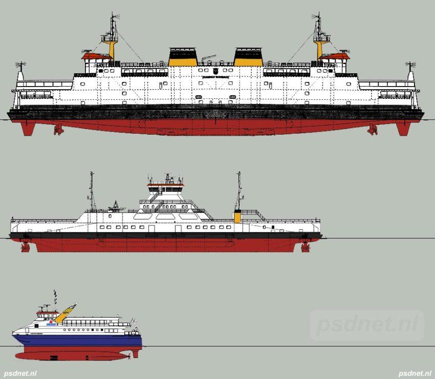Voorstel nieuwe veerboot