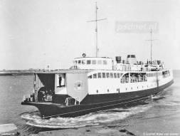 De nieuwe ferry in 1949