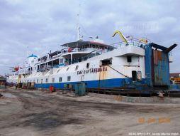 SMS Kartanegara - Op de werf in Samerang (1)