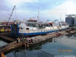 SMS Kartanegara - Op de werf in Samerang (2)