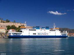 In de zomer van 2012 werd de veerboot verhuurd aan Blunavy en ingezet op de dienst Piombino-Portoferraio.