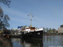 Afgemeerd in Zwolle