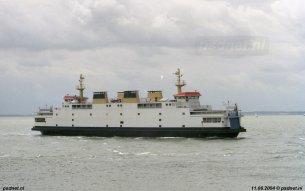 De veerboot Koningin Beatrix werd in 2004 Tremestieri gedoopt, naar de plaats van een aanleghaven aan de Straat van Messina in Italië.