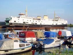 Avondzon in de Binnenhaven