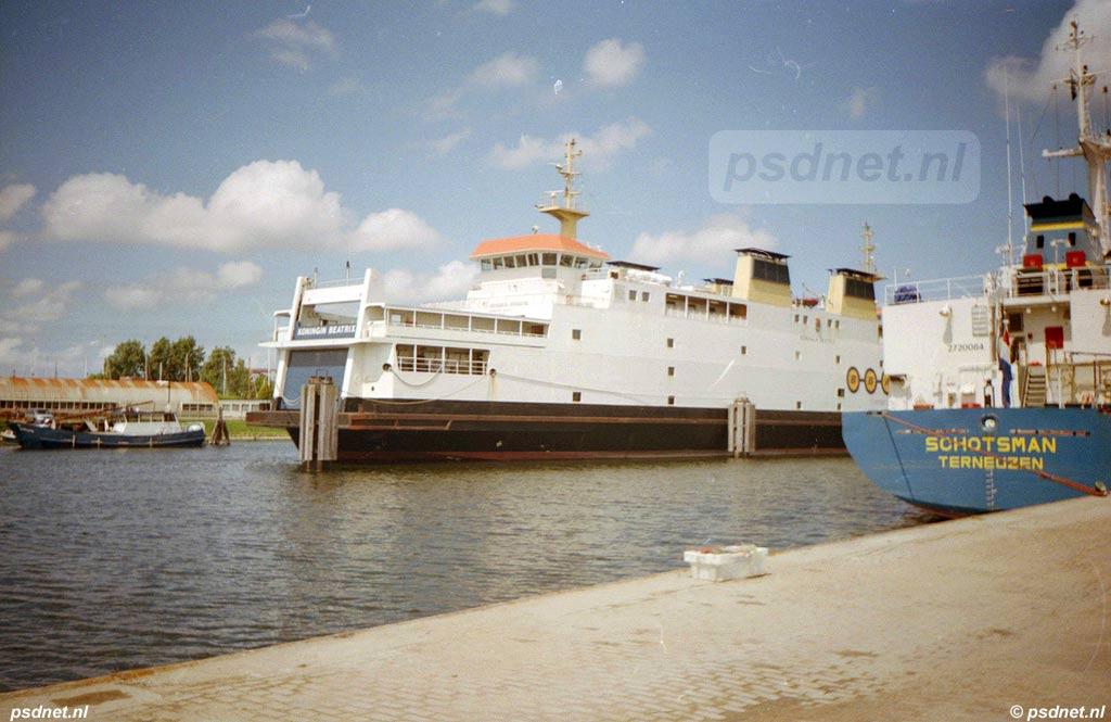 Beatrix in de Binnenhaven