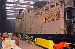 Het werk aan de vierde PSD-dubbeldekker nadert in de zomer van 1993 de voltooiing.