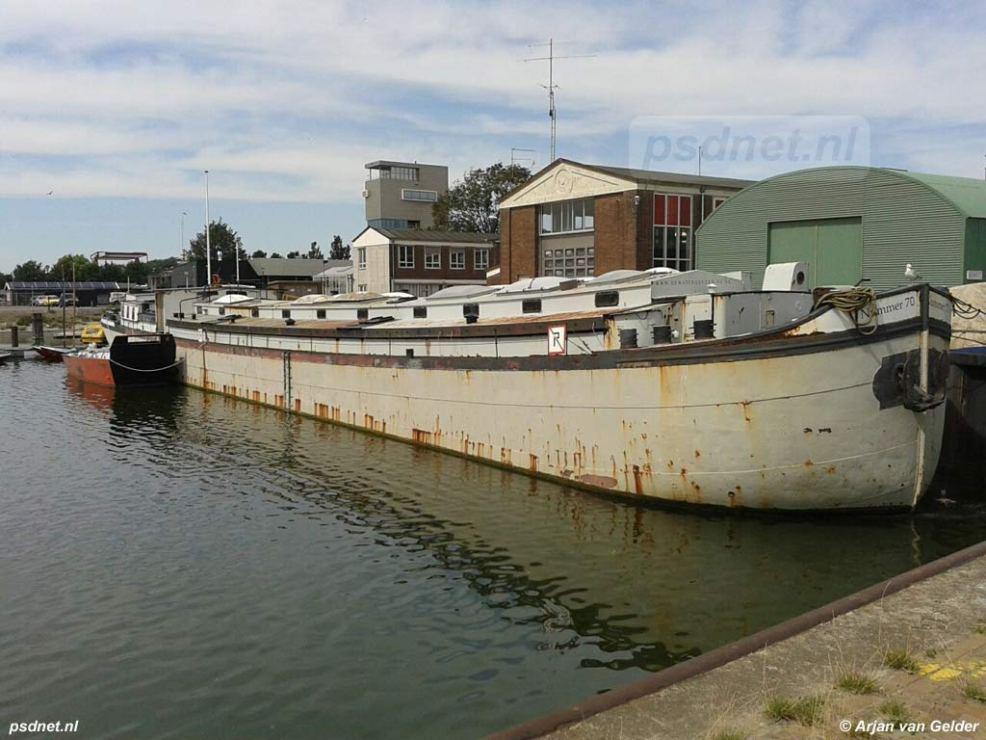 Binnenhaven in Vlissingen na de PSD