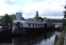 Borrels boot in Zwolle