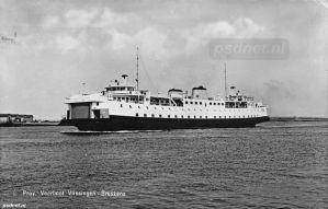 Buitenhaven met de PSD-veerboot